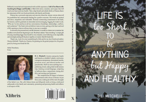 LIfe is too Short Book Cover Front and Back